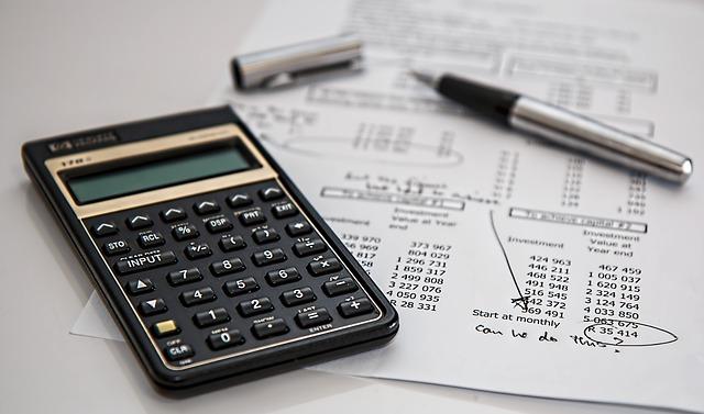kalkulačka na faktuře